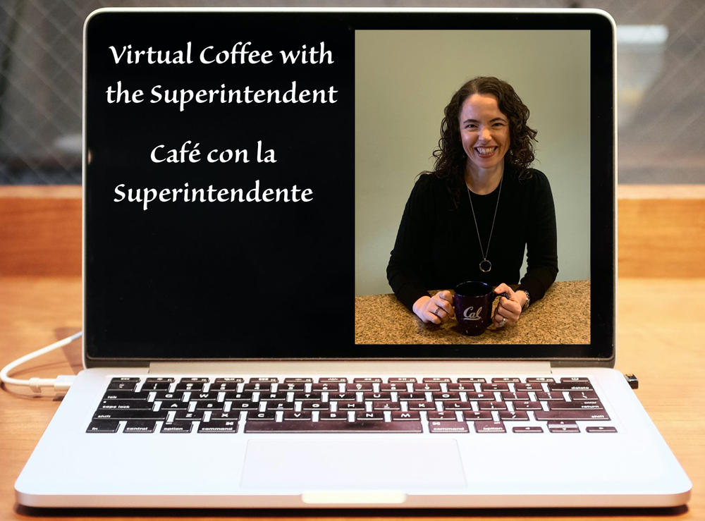 laptop showing superintendent