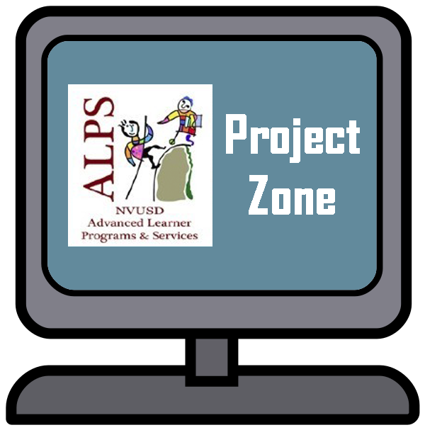 ALPS Project Zone on computer screen