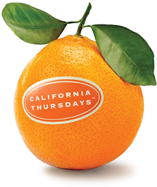 California Thursday orange