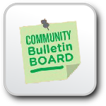 community bulletin board button
