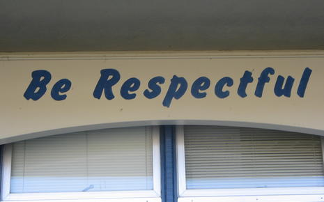 Be Respectful at McPherson